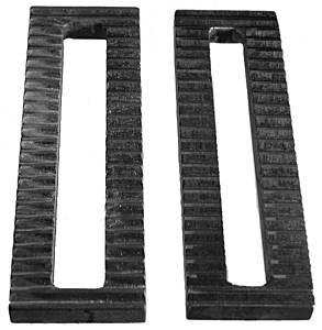 U-B MACHINE #46-1602 Serrated Steel Plate .75 slot .5 x 2 x  6