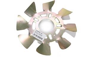 ULTRA COOL BRAKE FANS #ALMBFS5-625L Brake Fan - LH Aluminum 5x4-1/2 to 5-1/8 w/ .625