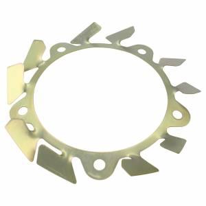 ULTRA COOL BRAKE FANS #ALMBFW5L Brake Fan - LH Aluminum Wide 5