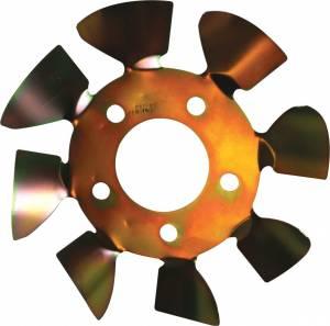 ULTRA COOL BRAKE FANS #LMBFS5-625L Brake Fan - LH 5x4-1/2 to 5-1/8 w/.625 Studs