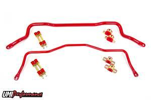 UMI PERFORMANCE #211213-R 93-02 GM F-Body 35mm&22mm Sway Bar Kit