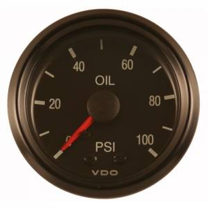 VDO #150-030 Pres.Gauge 100psi oil