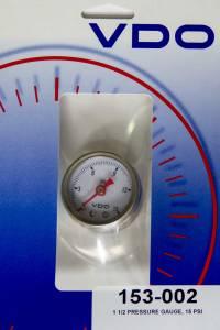 VDO #153-002 0-15 Fuel Pressure Gauge