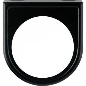 Mounting Panel 2-1/16 1 Hole Black