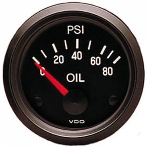 VDO #350-040 Oil Press.Gauge 80psi
