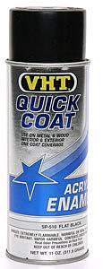 VHT #SP510 Flat Black Quick Coat