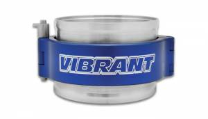 VIBRANT PERFORMANCE #12520B HD Clamping Assembly 5in OD Tubing Blue