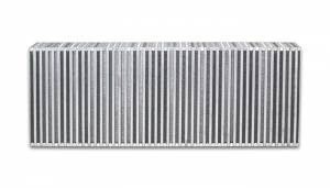 VIBRANT PERFORMANCE #12851 Vertical Flow Intercooler 30inW x 10inH x 3.5in