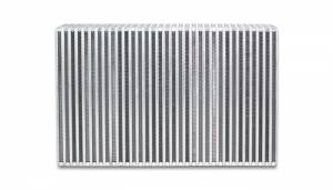 VIBRANT PERFORMANCE #12855 Vertical Flow Intercooler 18inW x 6inH x 3.5in