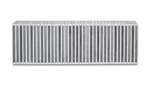 VIBRANT PERFORMANCE #12859 Vertical Flow Intercooler 24inW x 8inH x 3.5in