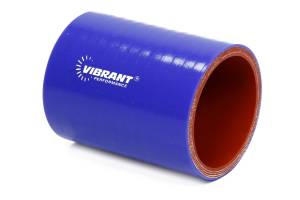 VIBRANT PERFORMANCE #2706B 4 Ply Silicone Sleeve 2i n I.D. x 3in long - Blue