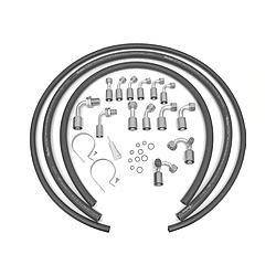 VINTAGE AIR #31703-VBD Hose Kit w/o Drier Bead Lock Fittings
