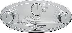 VINTAGE AIR #48104-RHQ Gen II Streamline Contrl Panel