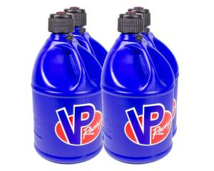 VP FUEL CONTAINERS #3034 Utility Jug 5 Gal Blue Round (Case 4)