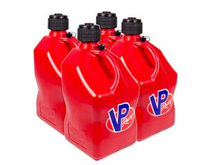 VP FUEL CONTAINERS #3514 Utility Jug 5 Gal Red Square (Case 4)