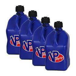 VP FUEL CONTAINERS #3534 Utility Jug 5 Gal Blue Square (Case 4)