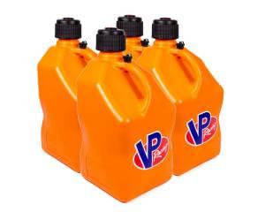 VP FUEL CONTAINERS #3574 Utility Jug 5 Gal Orange Square (Case 4)