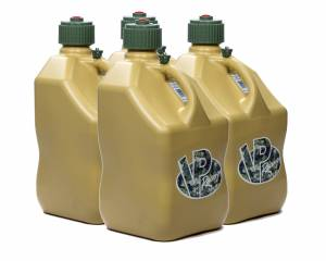 VP FUEL CONTAINERS #4044 Utility Jug 5 Gal Tan Square (Case 4)