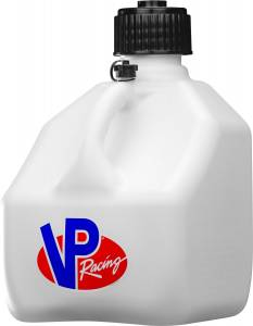 VP FUEL CONTAINERS #4172 Utility Jug 3 Gal White Square