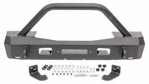 WARN #101330 18- Jeep JL Stubby Front Bumper w/Grille Guard