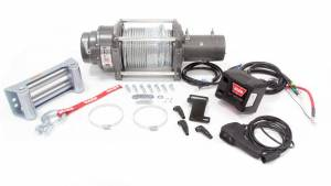 WARN #17801 M12000 Winch w/Roller & 125' Cable