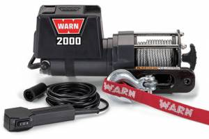 WARN #92000 DC2000 Winch 2000lb w/Hawse Fairlead