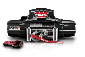 WARN #92820 ZEON 12 Platinum 12000lb Winch w/Wire Rope Roller