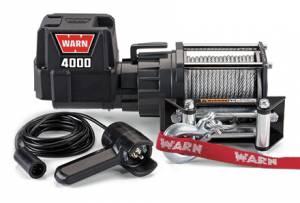 WARN #94000 DC4000 Winch 4000lb w/Roller Fairlead