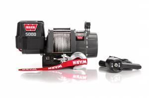 WARN #99963 DC5000 Winch 5000lb Haws se Fairlead 12ft Remote