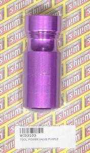 WILLYS CARB #WCD3103 Power Valve Tool- Purple