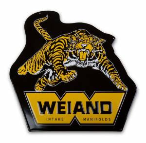 WEIAND #10009WND Weiand Metal Sign - Tiger