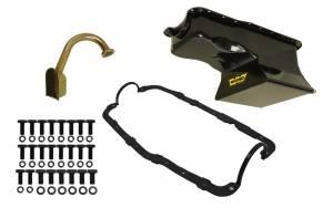 WEIAND #5036WND 7qt Oil Pan Kit Frt Sump SBF 351W 65-87 Black