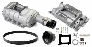 WEIAND #6512-1 SBC 177 Supercharger Kit - Satin
