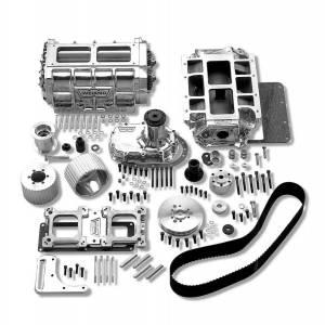 WEIAND #7582P SBC 6-71 Supercharger Kit - Polished