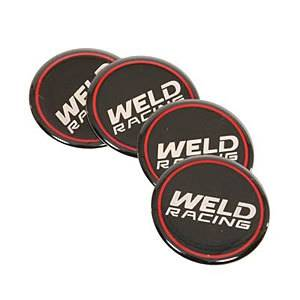 WELD RACING #601-3010 Weld Wheel Center Cap Sticker (4pk)