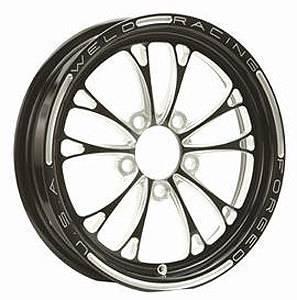 WELD RACING #84B-1704274 17x4.5 V-Series Drag Wheel 1-Piece 5x4.75