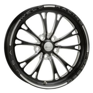 WELD RACING #84P-15274 V-Series Frnt Drag Wheel Pol 15x3.5 5x4.75BC 1.75
