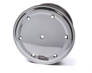 WELD RACING #860-50954-6 15x9 Wheel Direct Mount 4in BS Bead-Loc w/Cover