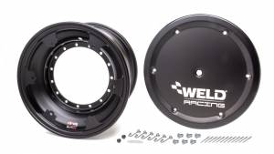 WELD RACING #860B-50904-6 15x9 Wheel Direct Mount 4in BS w/Cover Non-loc