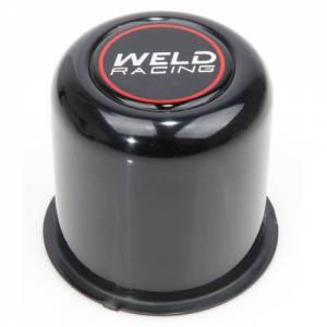 WELD RACING #P605-5083B Center Cap - Push Thru. 3.16 OD Black