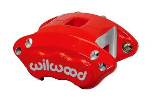 WILWOOD #120-11873-RD Caliper GM D154 Red Dual Piston 1.62in Dia