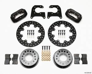WILWOOD #140-0264-BD D/L Drag Rear Brake Kit Olds/Pontiac