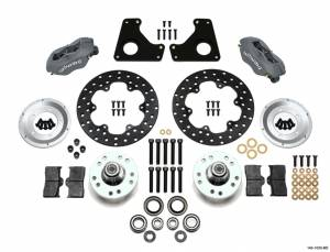 WILWOOD #140-1033-BD Dragster Front Kit MD 80-87 GM