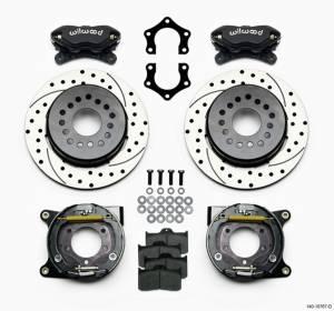 WILWOOD #140-10767-D Rear Brake Kit Dynalite Mopar/Dana w/PB