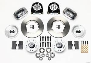 WILWOOD #140-11013-P Front Disc Brake Kit Early Ford 37-48
