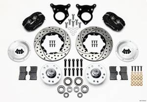 WILWOOD #140-11018-D P/S Front Kit 87-93 Mustang 10.75in Rotor