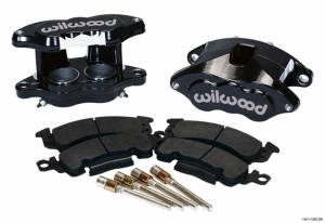 WILWOOD #140-11290-BK Front Caliper Kit D52 / Big GM Blk Powdercoated