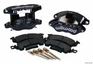 WILWOOD #140-11291-BK Front Caliper Kit D52/ Big GM Blk Powdercoated