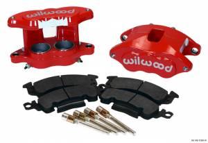 WILWOOD #140-11291-R Front Caliper Kit D52/ Big GM Red Powdercoated