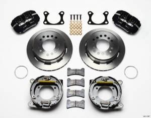 WILWOOD #140-11387 Rear Disc Brake Kit Big Ford w/Parking Brake